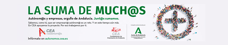 Autonomo-a y empresas, orgullo de Andalucía. Junto sumamos