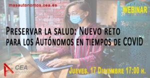 PRESERVAR LA SALUD: NUEVO RETO PARA LOS AUTÓNOMOS EN TIEMPOS DE COVID